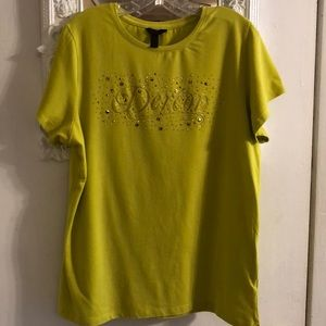 T-Shirt With shiny Jewels